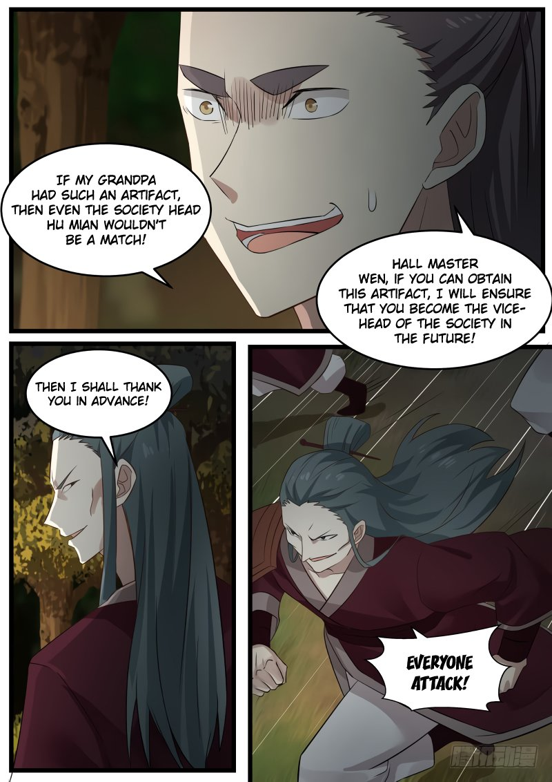 Martial Peak - chapter 66-eng-li